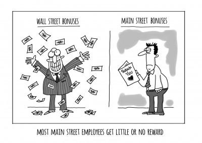 Wall street bonuses Fletcher