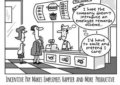 Incentive Pay Makes Employees Happier and More Productive
